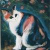 6猫とコスモス